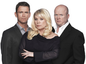 Scott Maslen, Letitia Dean and Steve McFadden