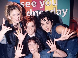 90s girl band, B*Witched.