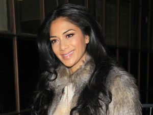 Nicole Scherzinger outside Radio 1 studios in London, 3 December 2012