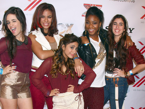 The X Factor 2012 Final Four Party at Rodeo Drive Featuring: Fifth Harmony Where: Beverly Hills, California, United States When: 06 Dec 2012