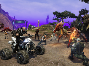 We catch up with Defiance senior producer Rob Hill to discuss the sci-fi MMO.