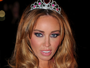 Lauren Pope arrives for TOWIE Live - 3 December 2012