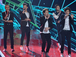 The X Factor Final: One Direction