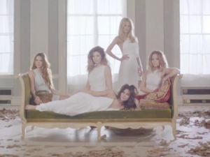 Girls Aloud 'Beautiful 'Cause You Love Me' video