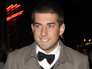 James 'Arg' Argent at The Bodyguard opening night at the Adelphi Theatre in London