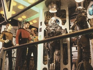Star Trek: The Next Generation - Borg & Riker