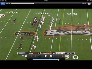 ESPN Player iPad app screenshot