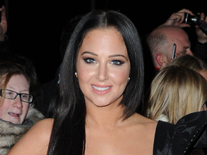 X Factor Finalists and Judges arrive in Manchester ahead of the grand final on Saturday night Featuring: Tulisa Contostavlos Where: Manchester, United Kingdom