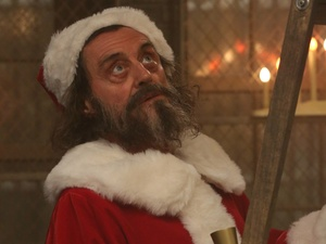 Ian McShane stars in a Christmas themed episode of 'American Horror Story: Asylum'.