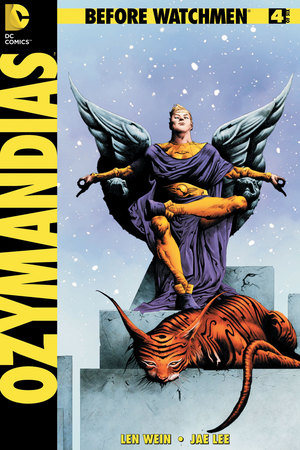 'Before Watchmen: Ozymandias' #4 cover artwork