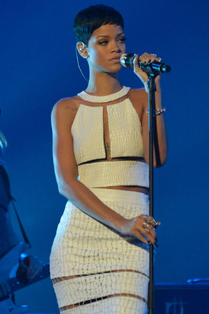 The X Factor Final: Rihanna
