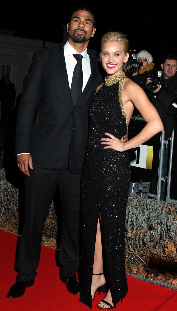 David Haye and Ashley Roberts