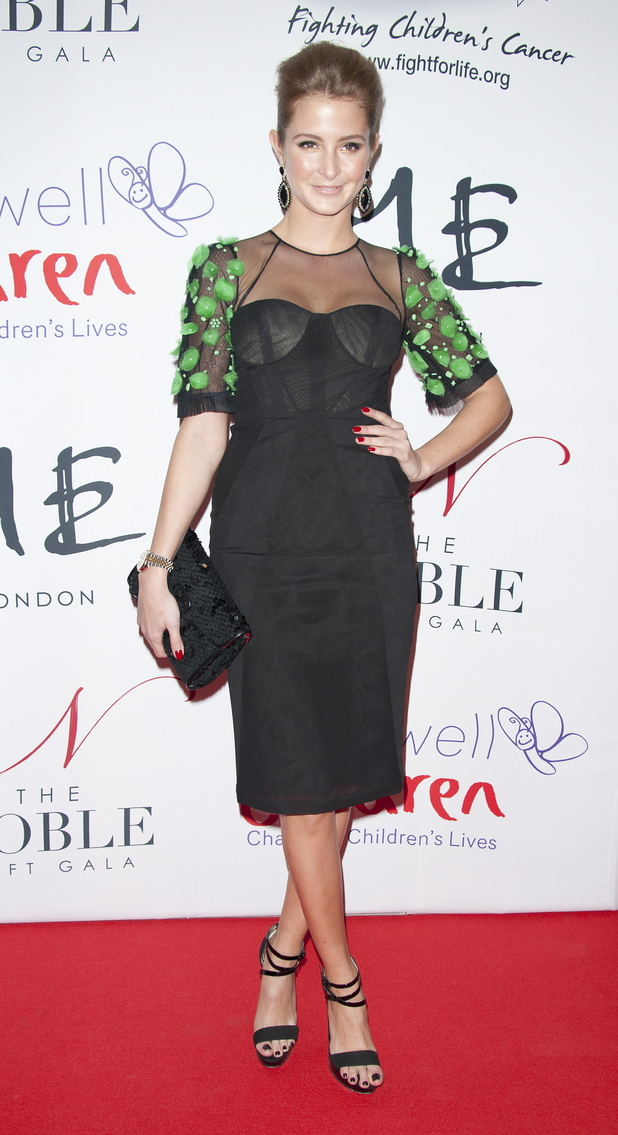 Millie Macintosh The Noble Gift Gala held at the ME Hotel - Arrivals London, England - 08.12.12 Credit: (Mandatory): WENN.com