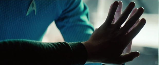 'Star Trek Into Darkness' extended trailer screen grab