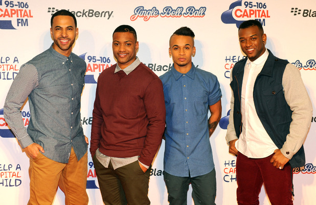 Capital FM Jingle Bell Ball 2012: JLS