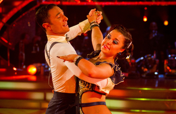 Strictly Come Dancing: Dani and Vincent.