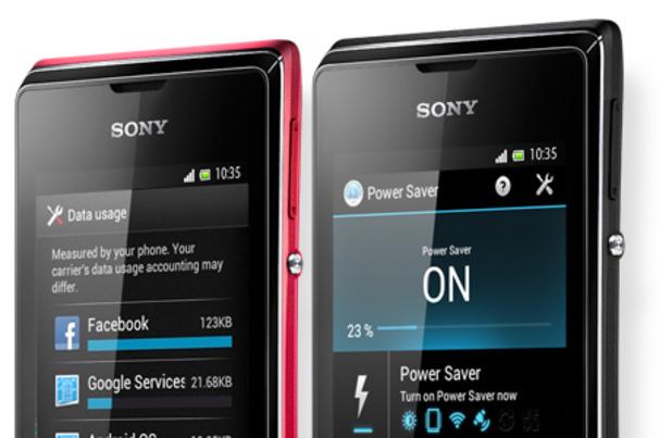 Sony Xperia E dual sim Android phone