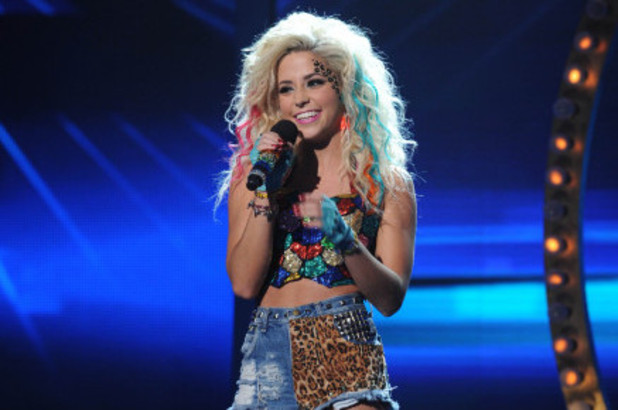The X Factor USA Live Show - The Top 6 perform: CeCe Frey