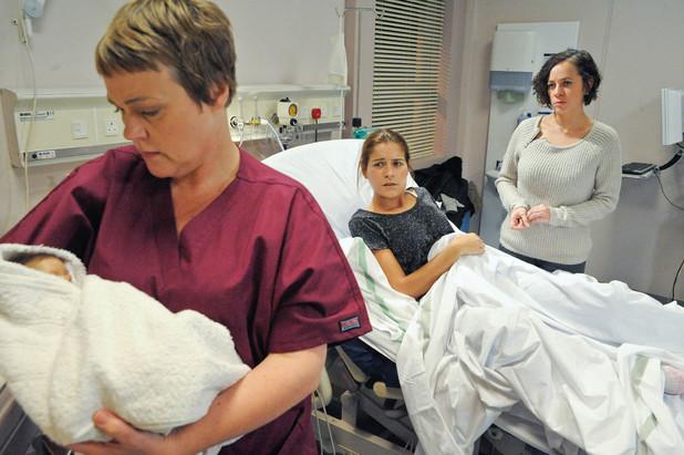 Rachel's baby has arrived