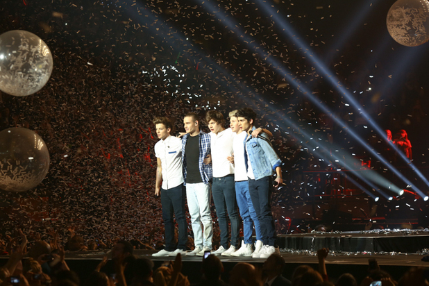 One Direction perform at Madison Square Garden