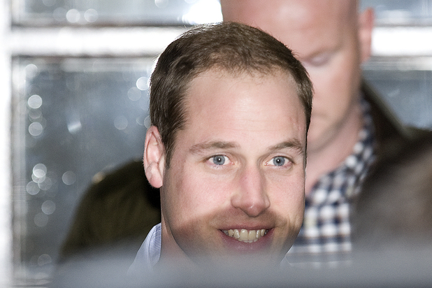 Prince William, The Duke of Cambridge, leaves the King Edward VII Hospital in Central London where The Duchess of Cambridge has been admitted reportedly for a pre-natal check-up. Featuring: Prince William, The Duke of Cambridge Where: London, United Kingdom When: 04 Dec 2012