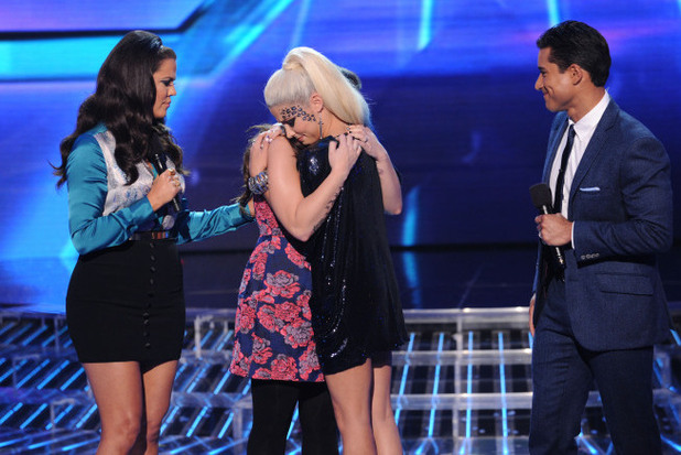 The X Factor USA Top 6 results show: Cece Frey is eliminated