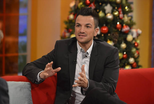 Peter Andre on Daybreak, 4 December 2012