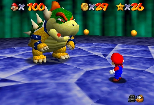 Super Mario 64 (for Nintendo 64)