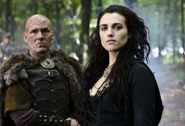 Beroun (BARRY AIRD), Morgana (KATIE McGRATH)