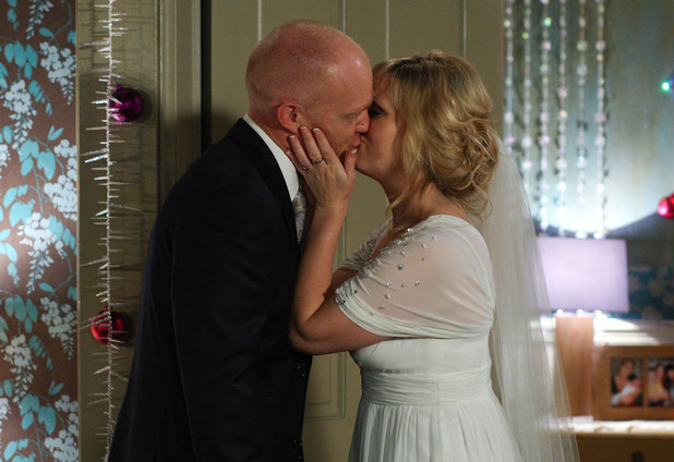 Tanya is touched by Max&#39;s plans for them to get married on Christmas day.