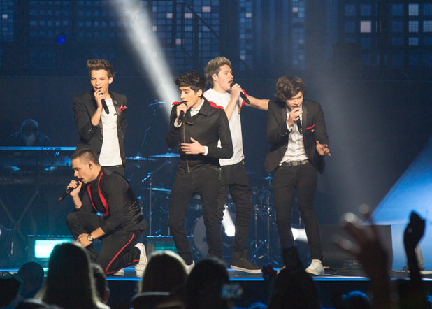 One Direction perform
