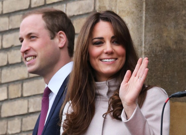 Prince William and Catherine Duchess of Cambridge visit Cambridgeshire, Britain - 28 Nov 2012