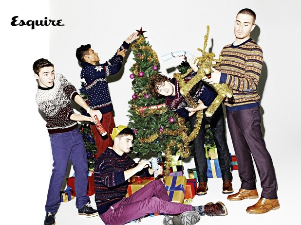 The Wanted Esquire shoot