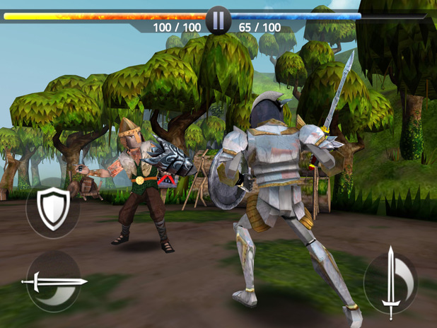 Screenshot of KnightScape for iOS