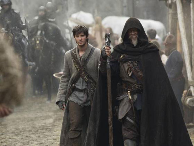 'Seventh Son' still: Jeff Bridges, Ben Barnes