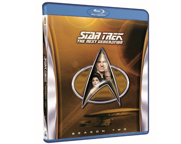 Star Trek: The Next Generation Season 2 packshot
