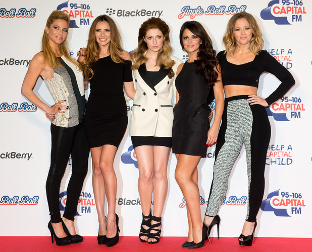 Capital FM Jingle Bell Ball 2012: Girls Aloud