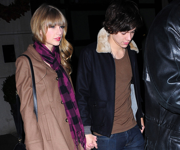 Taylor Swift and Harry Styles out and about in New York, America - 06 Dec 2012