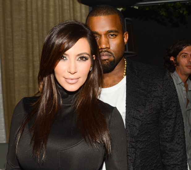 Dom Perignon celebration, Miami, America - 06 Dec 2012 Kim Kardashian, Kanye West 6 Dec 2012