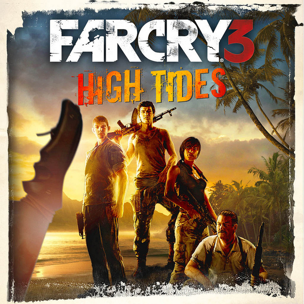 Far Cry 3 High Tides DLC poster
