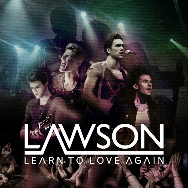 Lawson 'Learn To Love Again' single artwork.