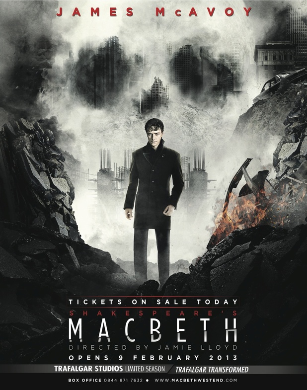 James McAvoy is... Macbeth