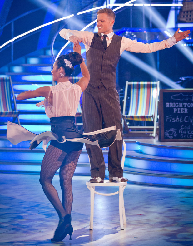 Strictly Come Dancing: Nicky and Karen.