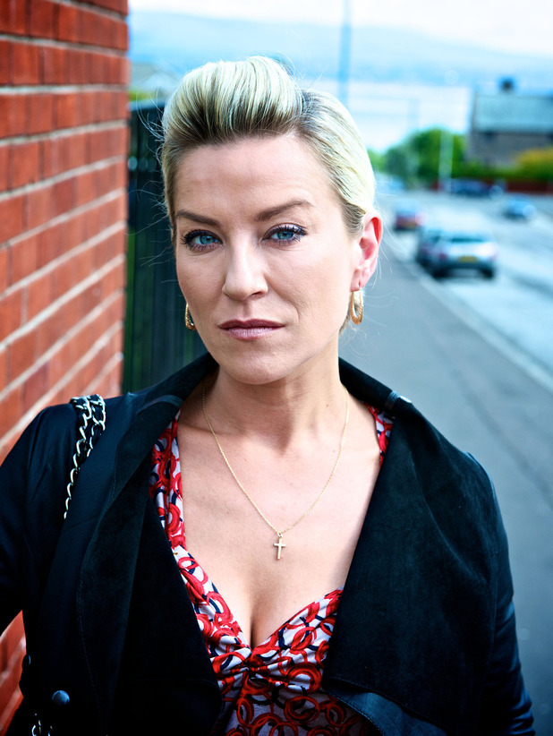 Zöe Lucker as Carol Barry in Waterloo Road