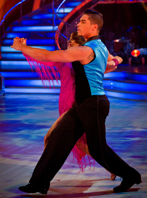 Strictly Come Dancing: Louis and Flavia.