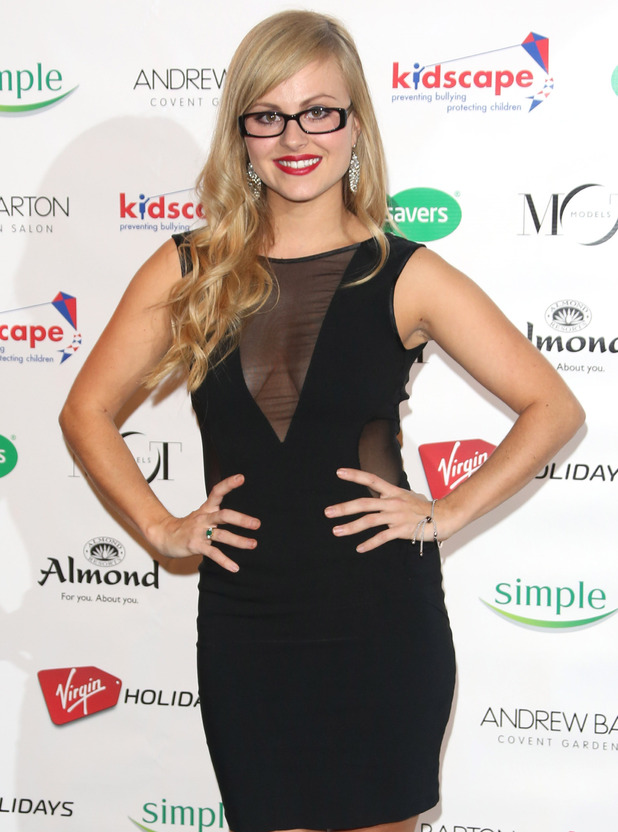 Celebrity-Tina-O'Brien-Specsavers Spectacle Wearer of the Year 2012