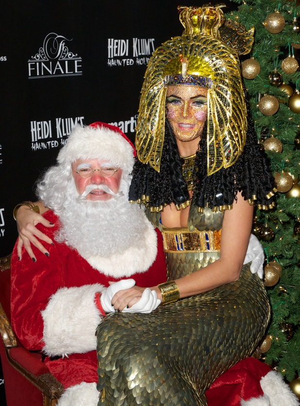 Heidi Klum's Haunted Holiday Party Benefitting