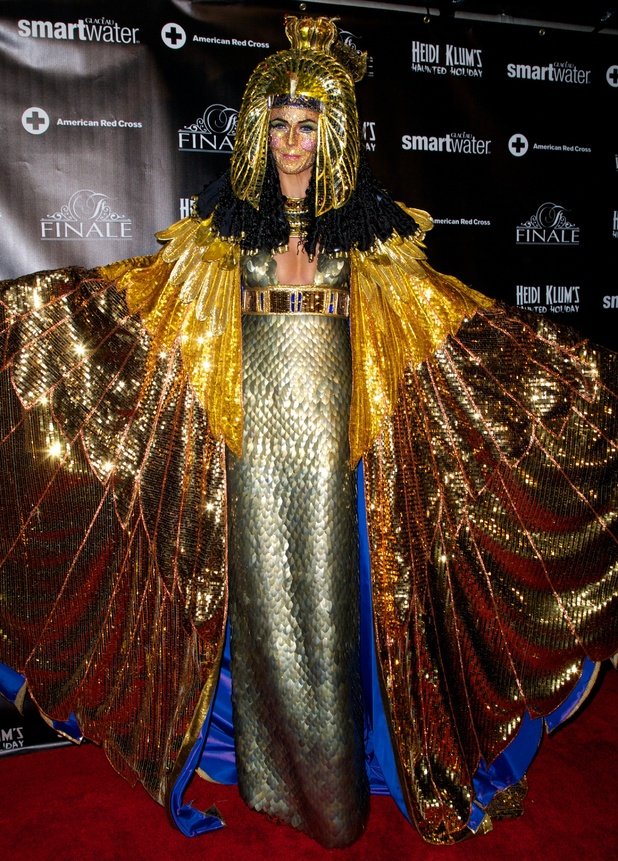 Heidi Klum's belated Halloween - best costumes in pics
