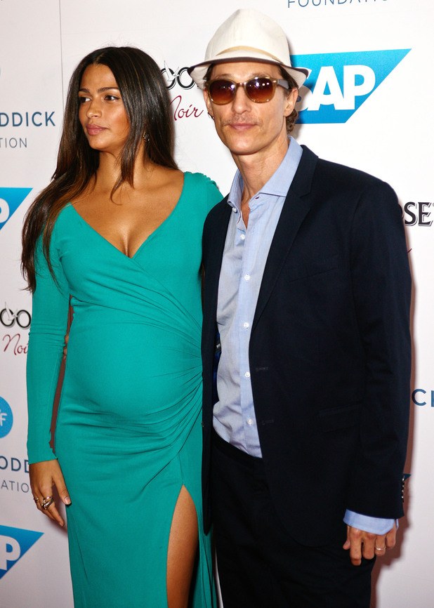 Camila Alves and Matthew McConaughey The 7th Annual Andy Roddick Foundation Gala held at the W Hotel - Arrivals Austin, Texas