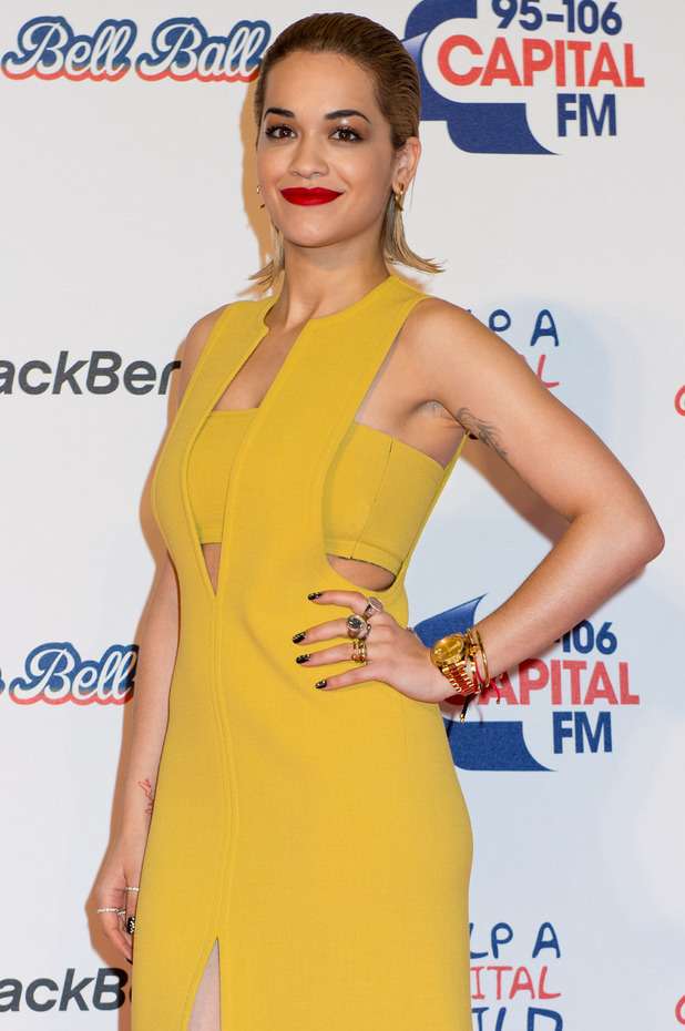 Capital FM Jingle Bell Ball 2012: Rita Ora